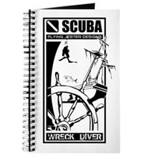 Scuba Diving Wreck Diver Journal
