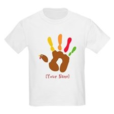 Personalized Turkey Hand T-Shirt