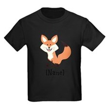 Personalized Fox T-Shirt