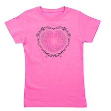 Heart v2 Girl's Tee