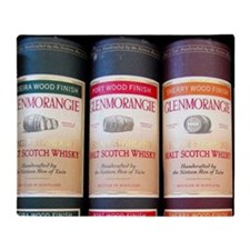 Scotland. Specialty Scotch Whisky. Throw Blanket