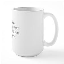 LookAfterMyHeart_v2 Large Mug
