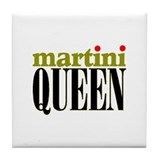 MARTINI QUEEN Tile Coaster