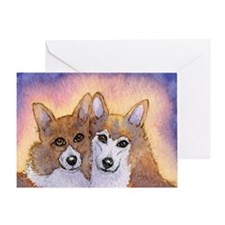 c cal 2 they were inseparable Greeting Card