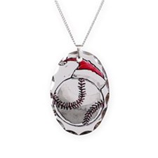 Xmasbaseball Necklace