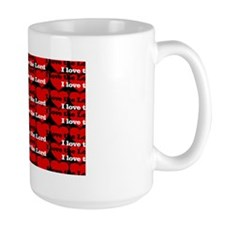 I Love the Lord hearts2 Mug