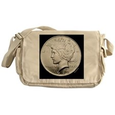 peace_dollar2 Messenger Bag