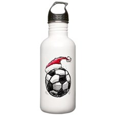 XmasSoccer Water Bottle