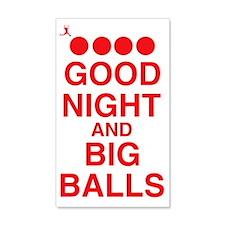 good-night-big-balls-red 20x12 Wall Decal