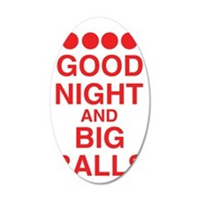 good-night-big-balls-red Wall Decal