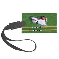agility dog art1 Luggage Tag