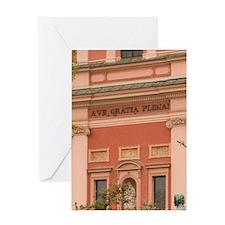 Ljubljana (Slovenian Capital): Franc Greeting Card