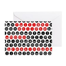 tote1 Greeting Card
