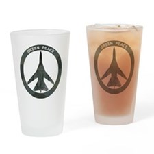 FB-111 Green Peace Drinking Glass