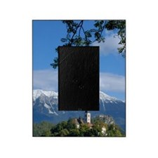 Bled Castle and Julian AlpsBled Isla Picture Frame