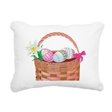 easter basket Rectangular Canvas Pillow