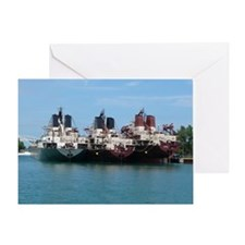 Ship10x8 Greeting Card