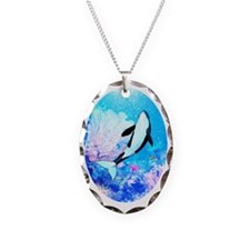 aquatica_ornament_oval Necklace