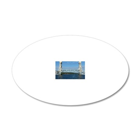 Port10x8 20x12 Oval Wall Decal