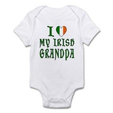 I Love My Irish Grandpa Infant Bodysuit