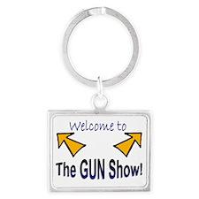 Gun Show Landscape Keychain