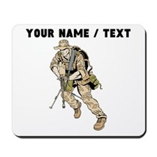 Custom Army Soldier Mousepad