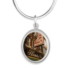 hinsch-bay-ridge Silver Oval Necklace