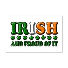Irish and Proud of It 3D Posters