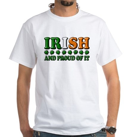 Irish and Proud of It 3D White T-Shirt
