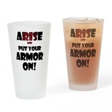 arise-armor Drinking Glass
