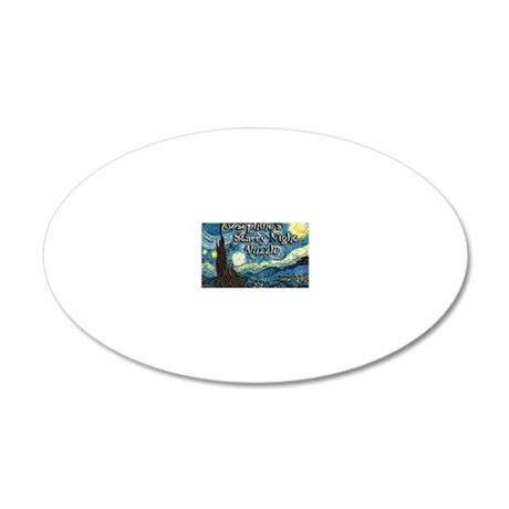 Josephines 20x12 Oval Wall Decal