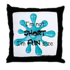 fun-size Throw Pillow