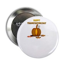 "happy thanksgiving turkey day 2.25"" Button"