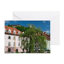Ljubljana (Slovenian Capital): Build Greeting Card