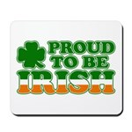 Proud to Be Irish Tricolor Mousepad