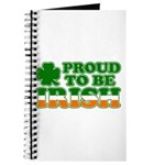 Proud to Be Irish Tricolor Journal