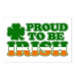 Proud to Be Irish Tricolor Postcards (Package of 8