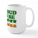 Proud to Be Irish Tricolor Large Mug
