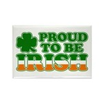 Proud to Be Irish Tricolor Rectangle Magnet (10 pa