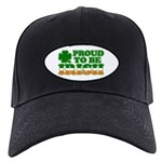 Proud to Be Irish Tricolor Black Cap
