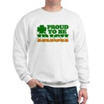 Proud to Be Irish Tricolor Sweatshirt