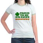 Proud to Be Irish Tricolor Jr. Ringer T-Shirt