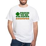Proud to Be Irish Tricolor White T-Shirt