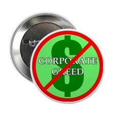 "Greed 2.25"" Button"