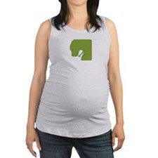 TRexCantDrive_Dark Maternity Tank Top