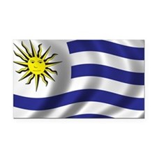 uruguay_flag Rectangle Car Magnet