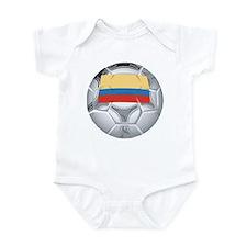 Ecuador Soccer Infant Bodysuit