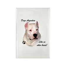 Dogo Breed Rectangle Magnet