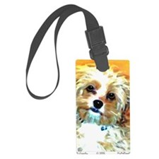 Cockapoo Luggage Tag