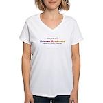Noonan Pride Women's V-Neck T-Shirt